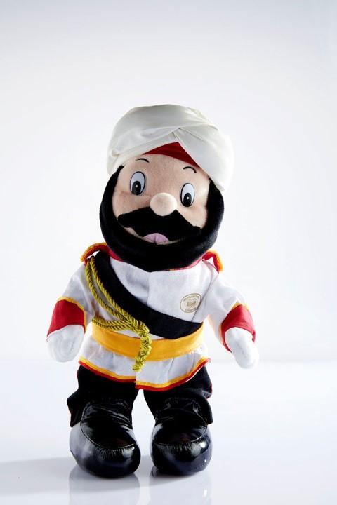 シンガポールラッフルズホテル ドアマン 人形