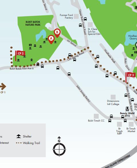 シンガポール散歩コース BUTIK BATOK