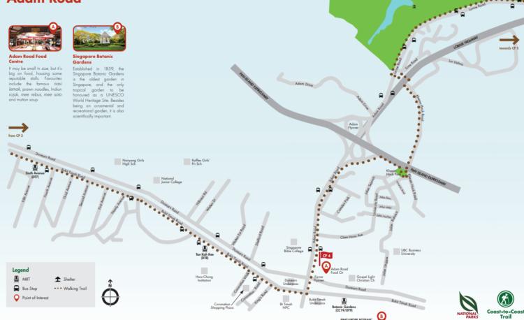 シンガポール散歩コース CP4