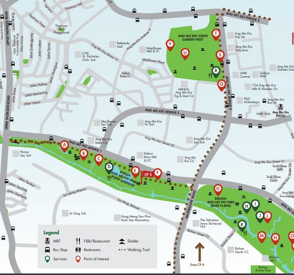 シンガポール散歩コース CP5 ハローアジア