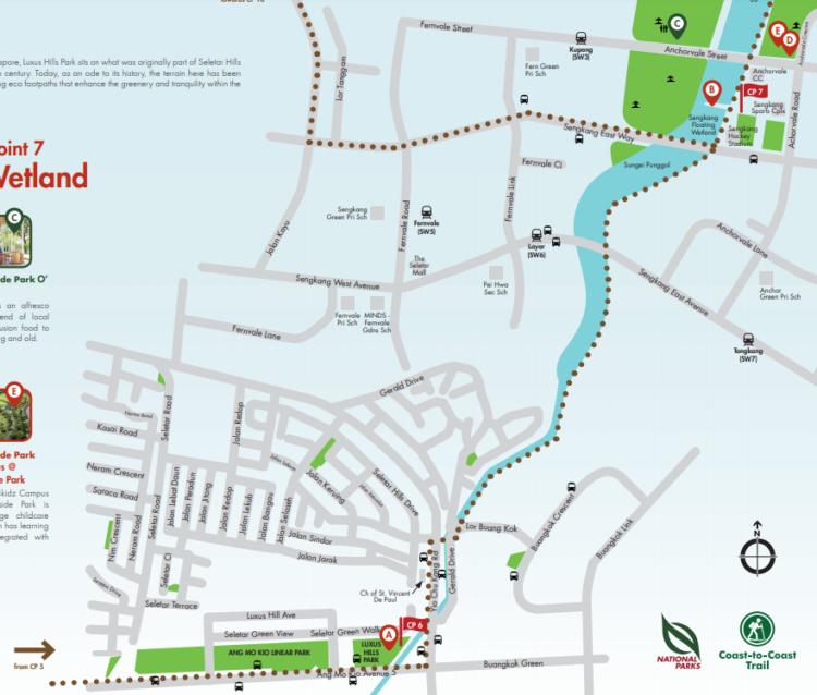 シンガポール 散歩コース CP7 ハロアジ