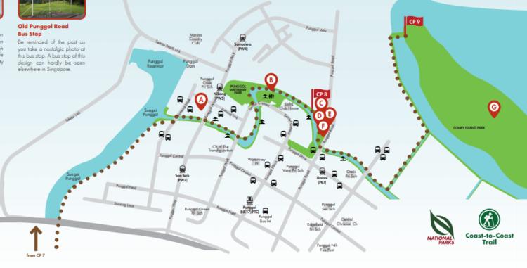 シンガポール 散歩コース CP8 ハローアジア
