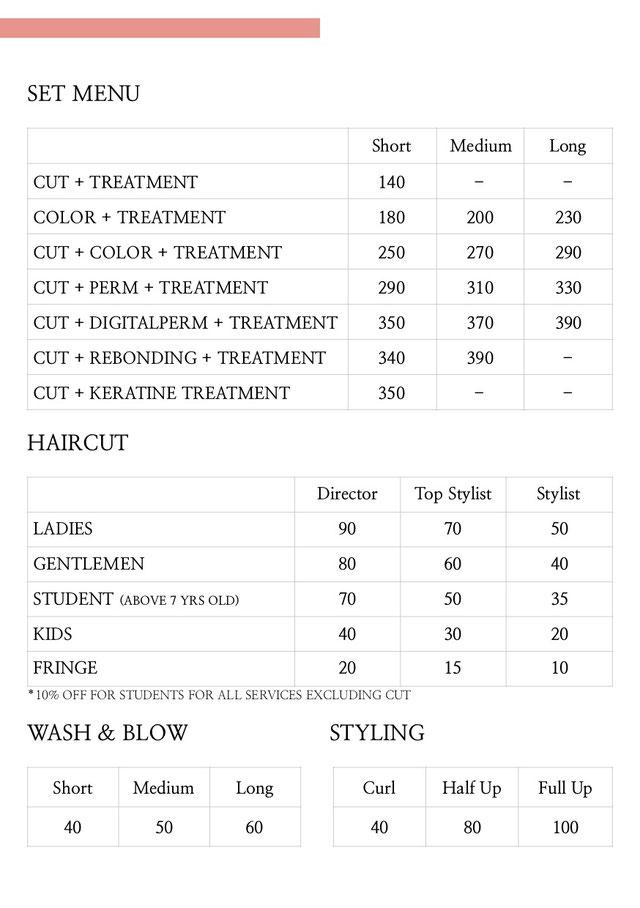 シンガポール美容室 SPIQ Hair Base