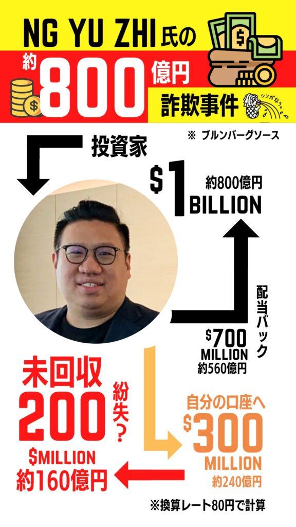シンガポール詐欺 800億円 あき