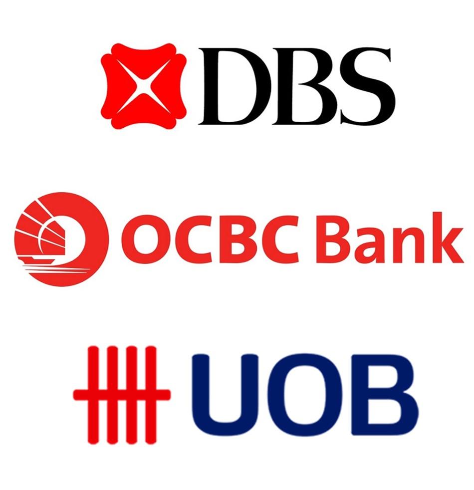 シンガポール銀行 DBS銀行 UOB銀行 OCBC銀行