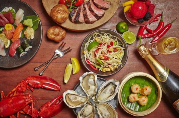 シンガポールいろんな洋食が楽しめそう!?多国籍料理「Mezza9」