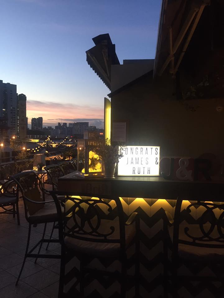 超絶オシャレなシンガポール屋上バー!「Aria Roof Bar」