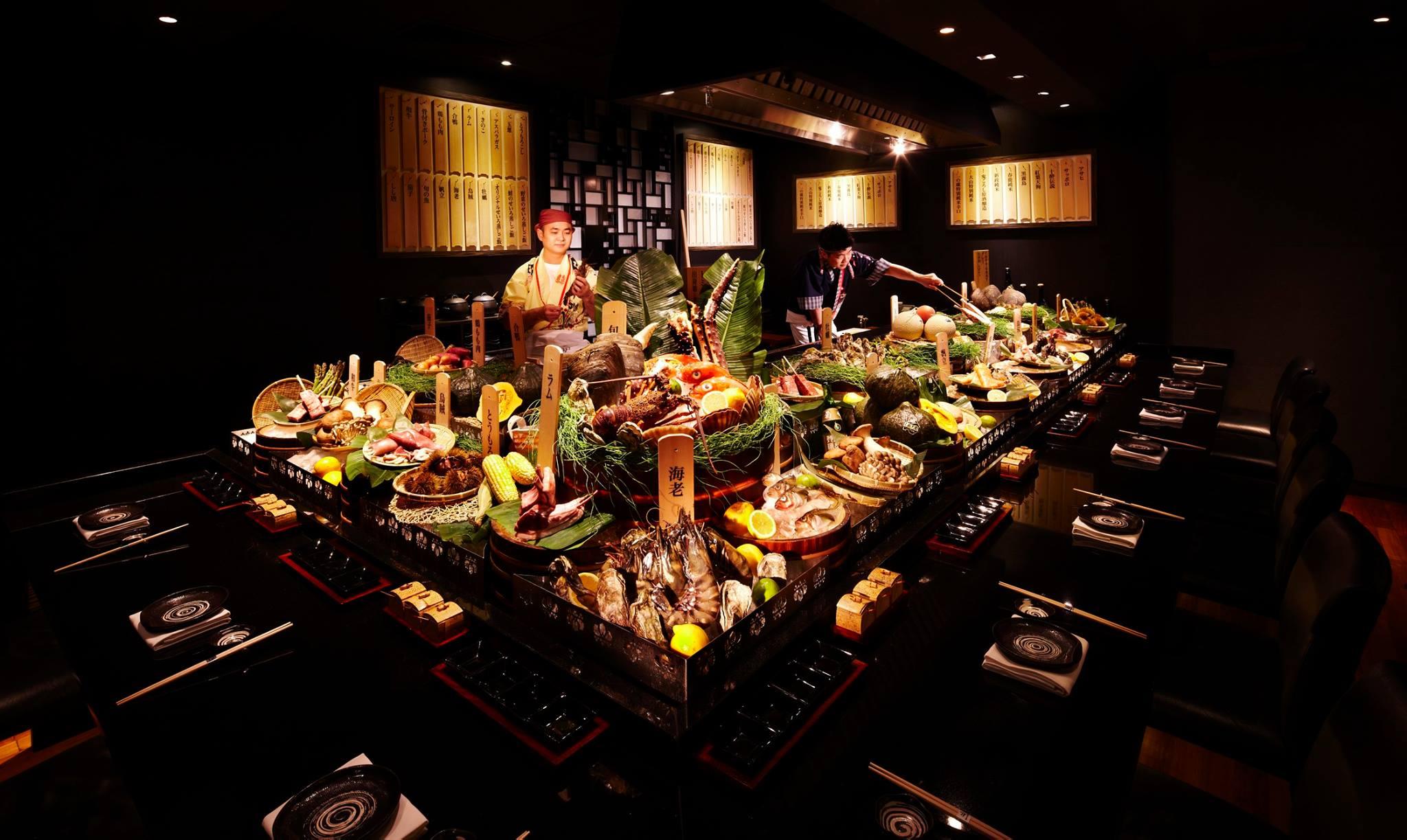 Fairmontホテルのモダンな日本食レストラン「三国」