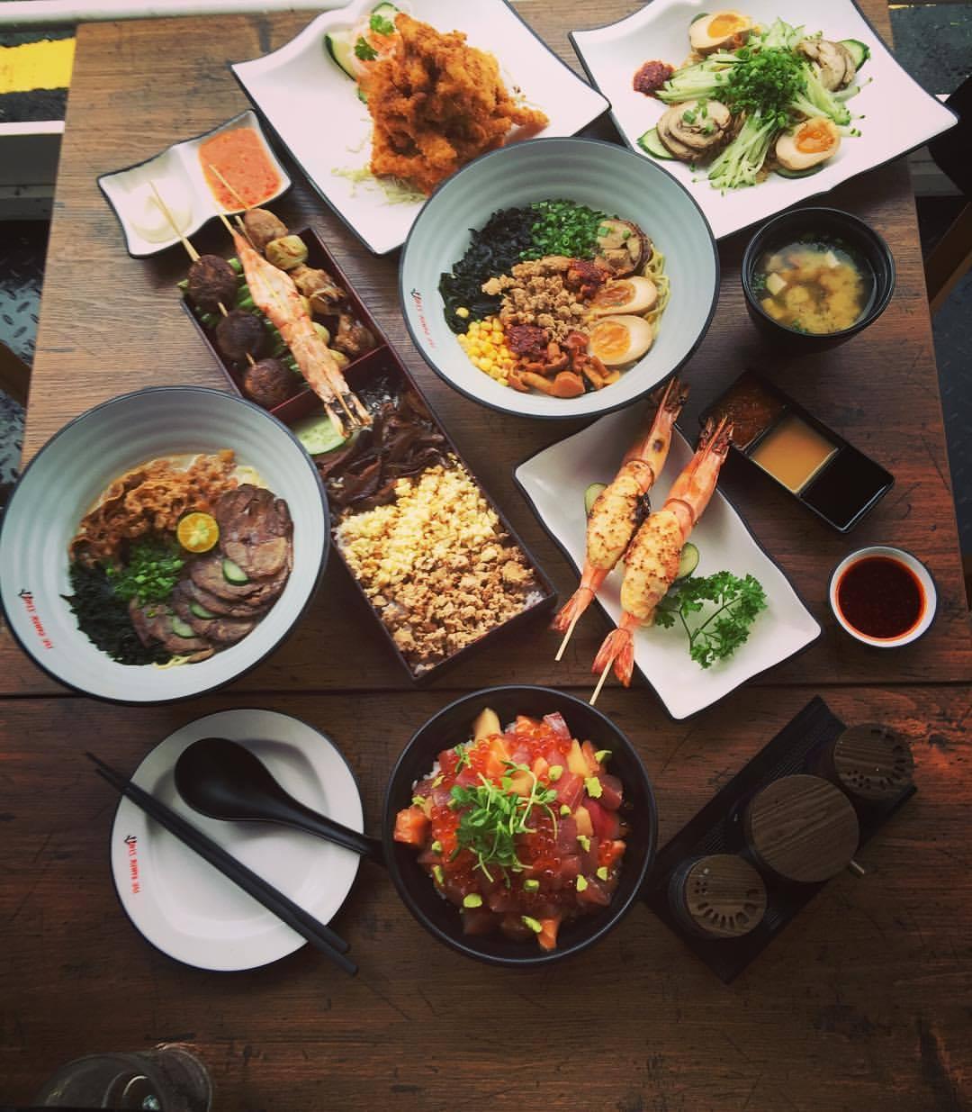 ハラルOKの日本食レストラン?!「The Ramen Stall」