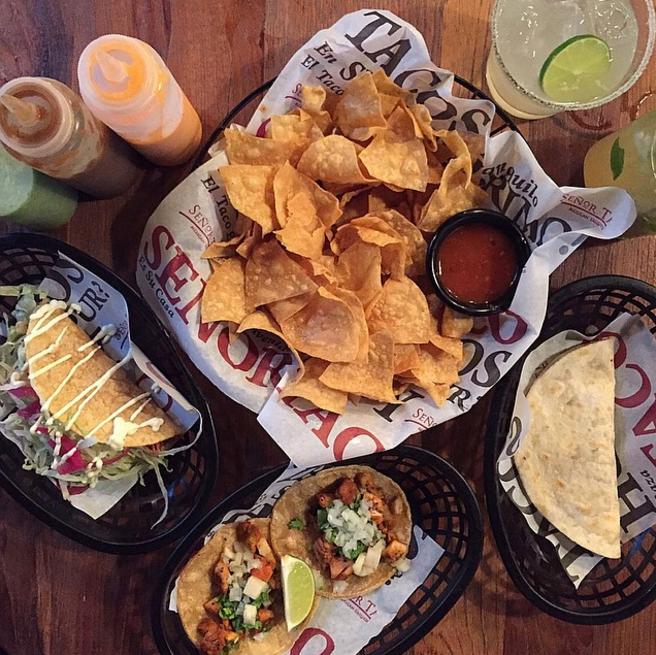 メキシカンタコスをクラークキーで!「Senor Taco Mexican」