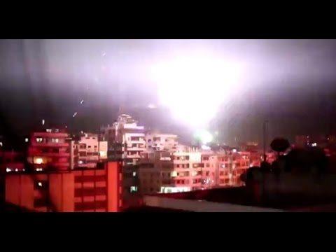 シリアのカウントダウン花火ワロタ