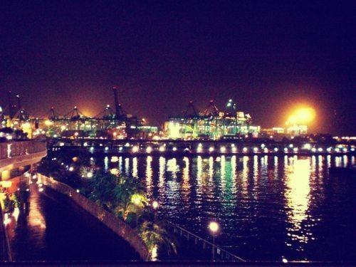 シンガポールチャイナタウンで旧正月点灯式