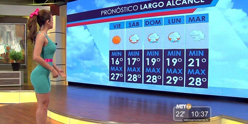 メキシコの天気予報w 外してもいいからずっと見てみたい件