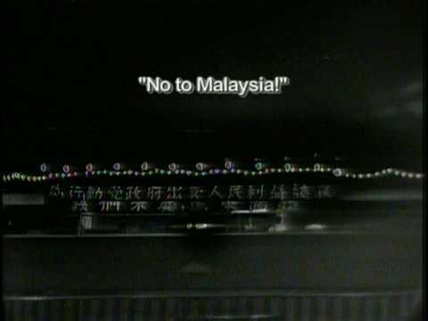 シンガポールリークアンユw 演説中に相手側を臆病者と