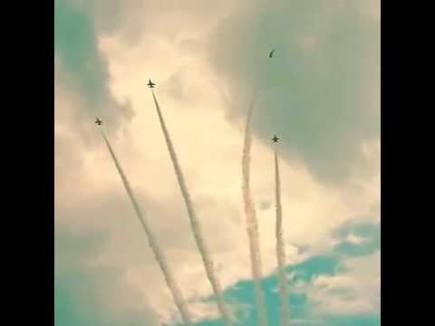 シンガポールリークアンユ、シンガポール空軍による慰霊飛行