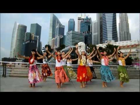 シンガポールハワイフラダンス