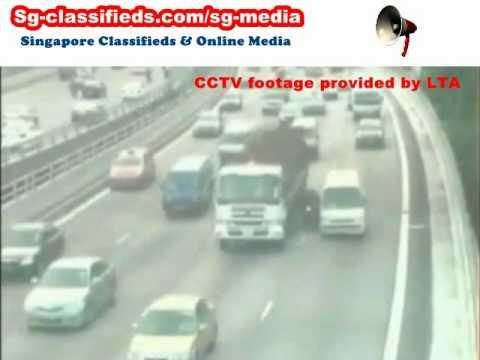 シンガポールの事故動画集