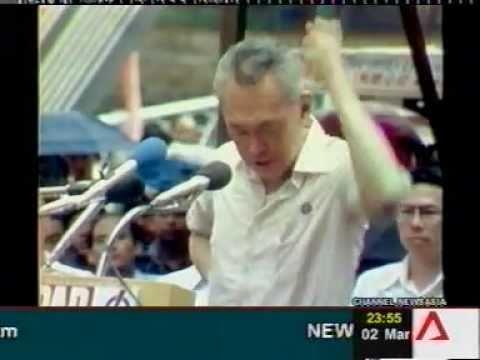 【シンガポール首相】 リークアンユーのスピーチ