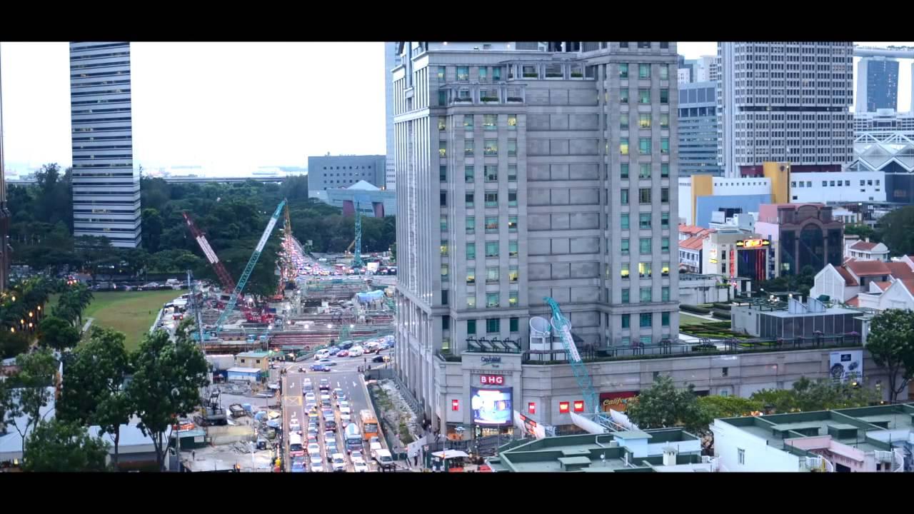シンガポール微速度撮影、撮ってみたよ