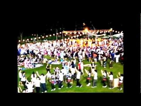 シンガポール夏祭り、シンガポール音頭とはこれよ