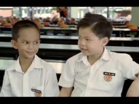 ハローアジアマレーシア、子供は人種差別を理解してない。親友バージョン