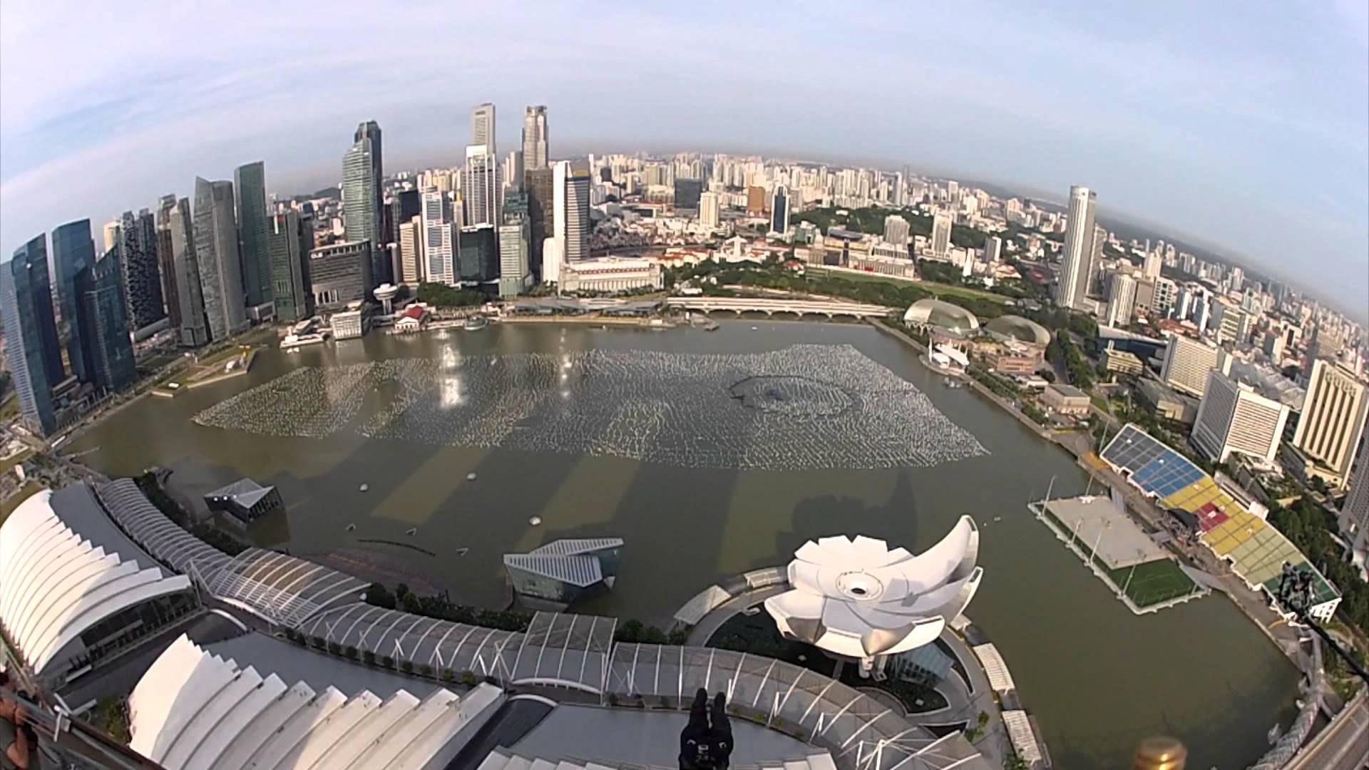 シンガポールMBSからスカイダイビングしてみた!