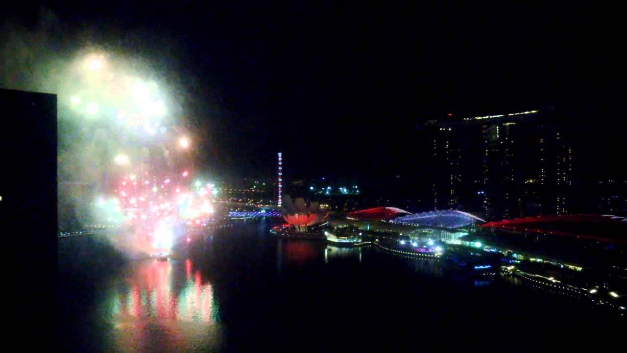 シンガポールNDP2013の花火動画。