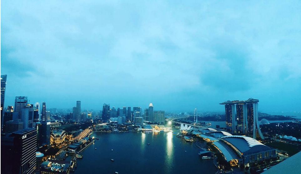 シンガポール景色と言えばこのレストラン! LeVel 33