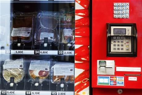 Buy meat from a vending machine?