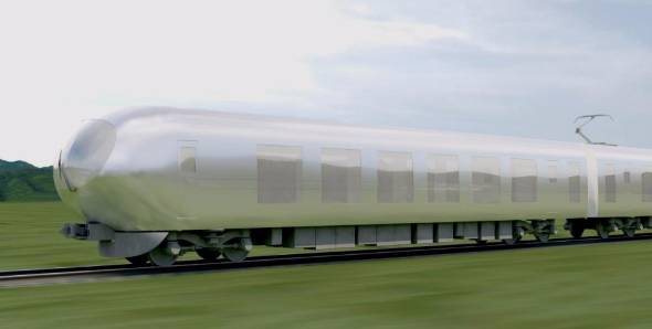 Seibu Railway's new train in 2018