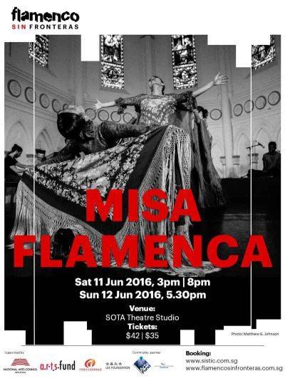 Flamenco Sin Fronterasのカンパニーメンバーによる舞台
