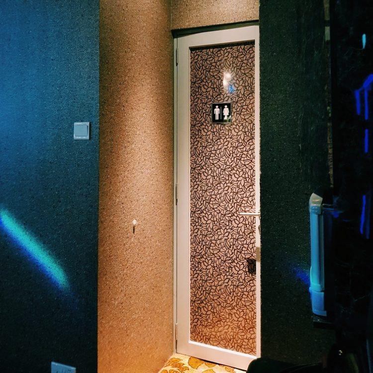 シンガポールタイキャバ YUME トイレ