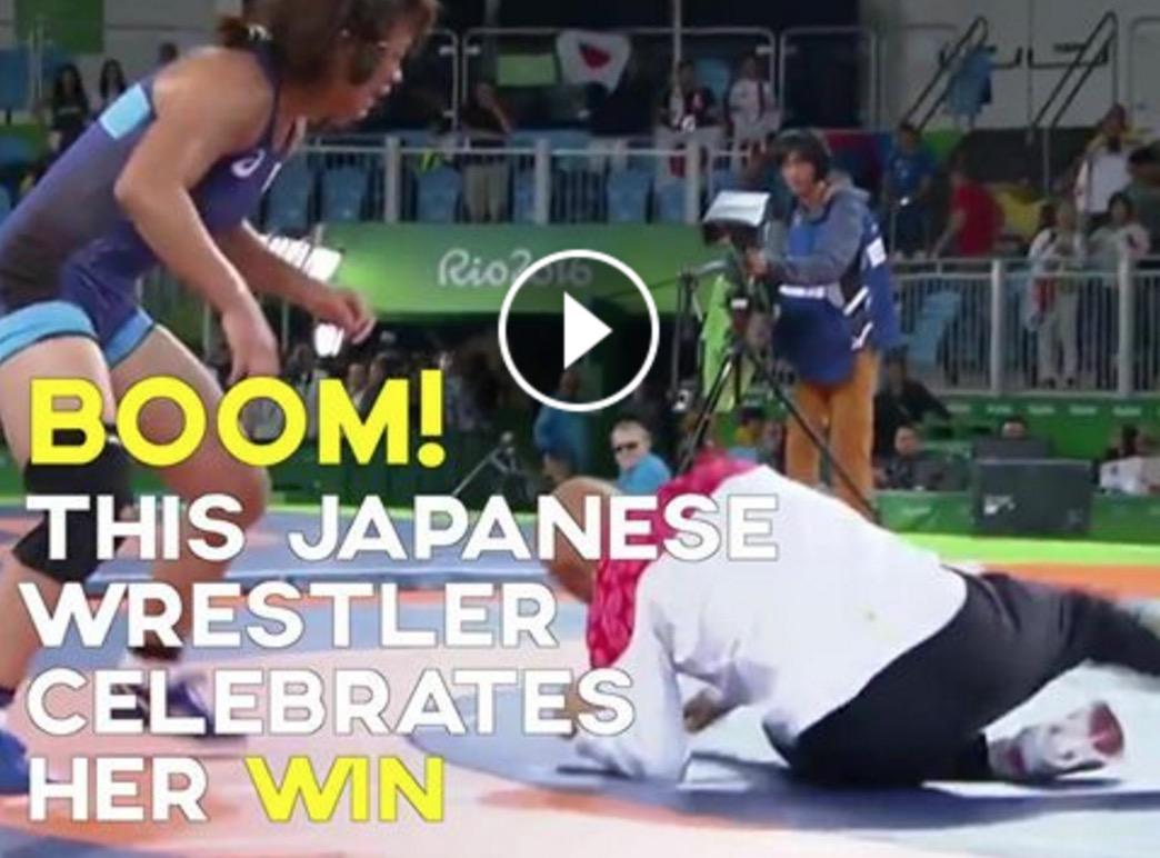 【感動動画】川井梨紗子様金メダル!!このシーンで涙出るのはなぜ。
