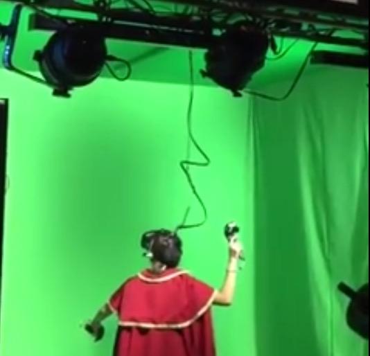 これぞ未来のVRゲームだね!たのしそ!VR GAME!!