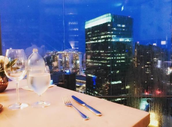 【ハロアジグルメ】 デートにオススメ! シンガポール地中海料理 Artemis Grill の景色が最高な件。