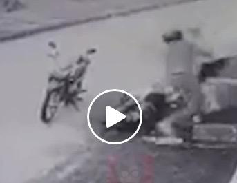 シンガポールバイクの部品を盗んでネットで売り飛ばそうとした男、逮捕!