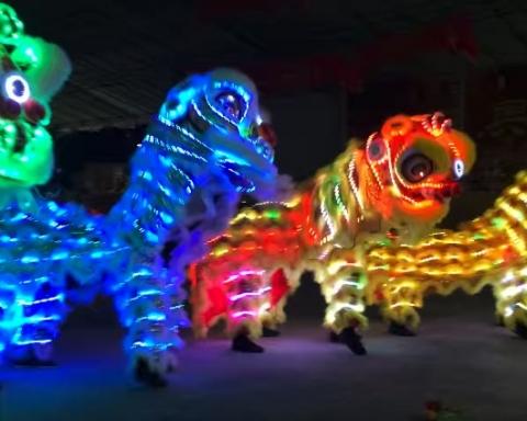 シンガポールライオンダンス