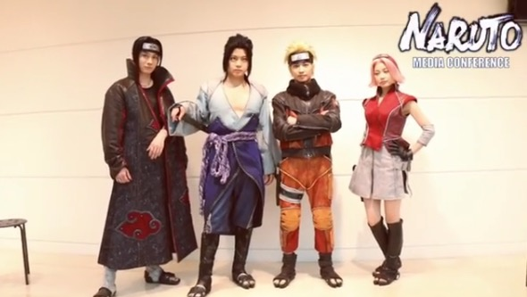 【Media Conf】 The Live Spectacle of Naruto 「Song of the Akatsuki」