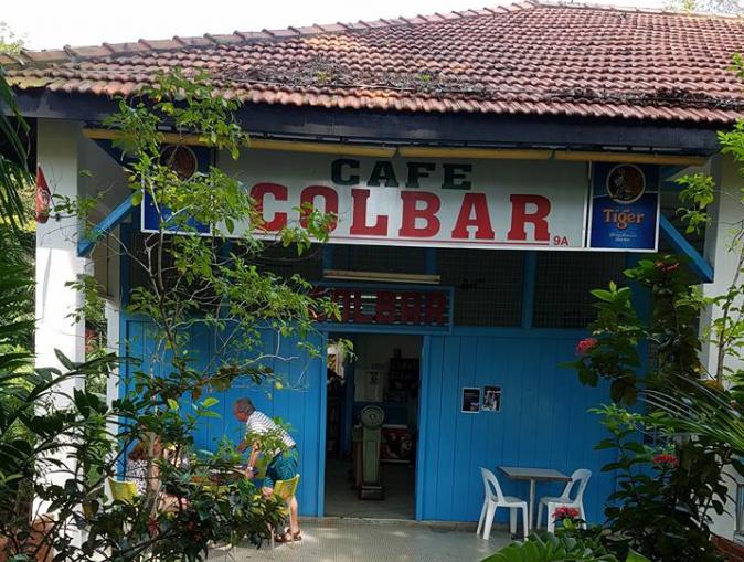シンガポールのイギリス統治時代からあるビールスポット、COLDBAR。 広瀬さんログ
