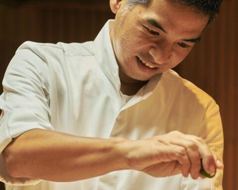 Sushi Masaaki Head Chef Masaaki san