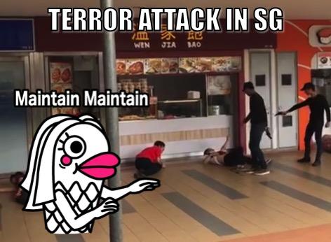えっ!? シンガポールパシリスMRT駅でテロ!?