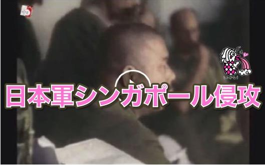 【シンガポール戦争】 ちょっとプロパガンダ入ってるけど、日本軍シンガポール侵攻 動画