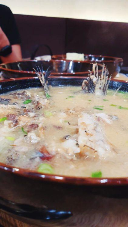 シンガポール魚王 アラ汁