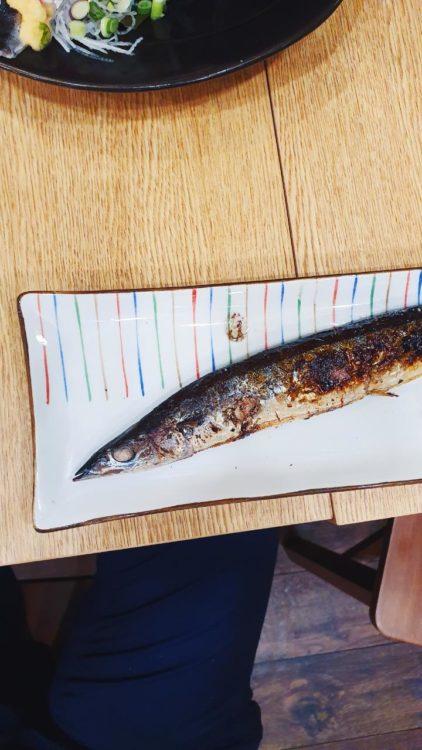 シンガポール魚王 サンマ