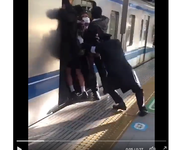 If U think SG trains are bad, watch this ah [vid]