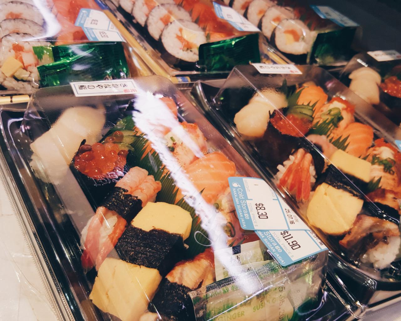 シンガポール中島水産  お寿司が安くてイケるかも疑惑。