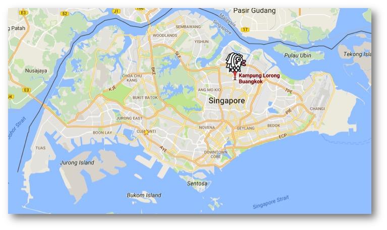 シンガポールカンポン!? シンガポールに村まだ残ってたんだ!
